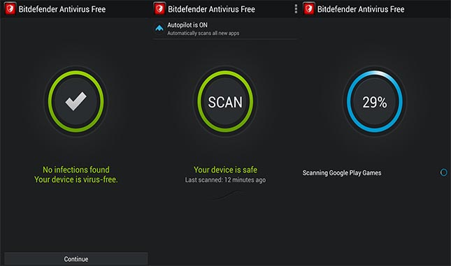 Bitdefender Anti-virus Gratuit pour Android