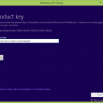 Comment télécharger Windows 8.1 ISO avec la clé du produit