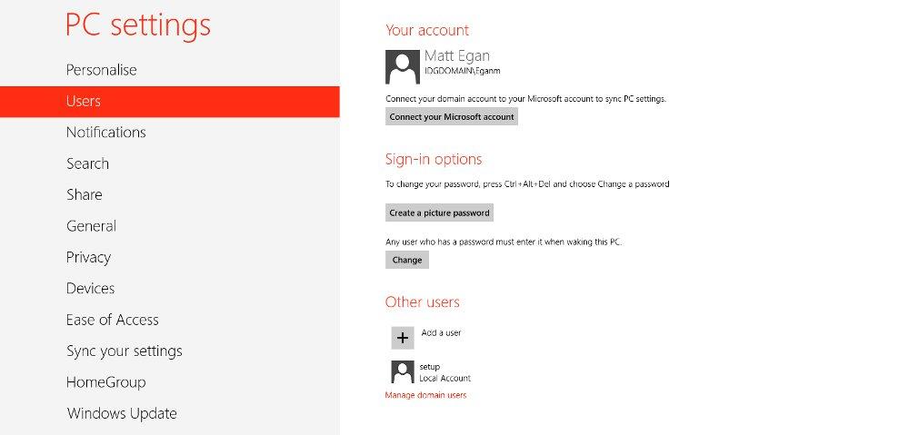 Comment modifier l'adresse e-mail associée à votre compte Windows 8