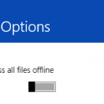 Comment accéder à vos fichiers Skydrive en mode hors ligne sur Windows 8.1
