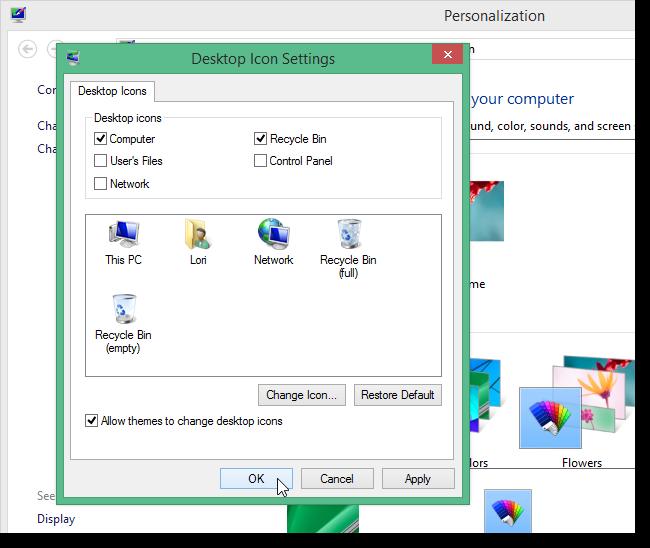 Windows 8 bureau