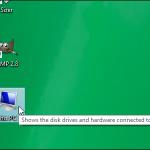 """Comment faire apparaitre l'icône """"Ordinateur"""" dans le bureau sur Windows 8.1"""