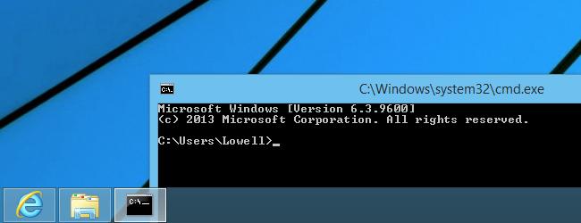 le bouton démarrer dans Windows 8.1
