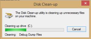 Nettoyer l'espace disque