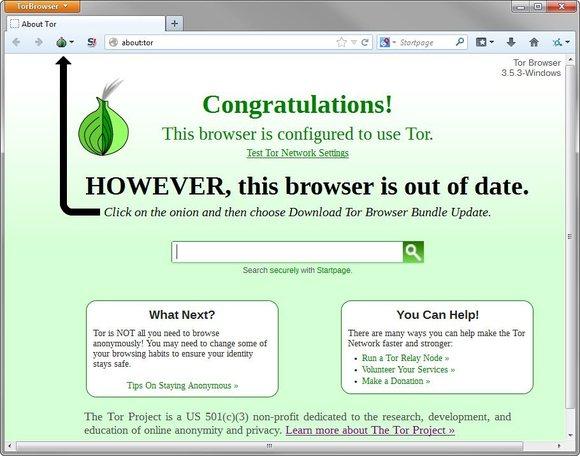navigateur Tor
