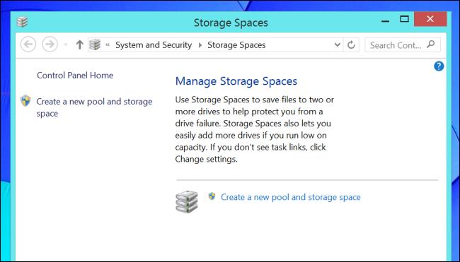 Storage Space Mirroring
