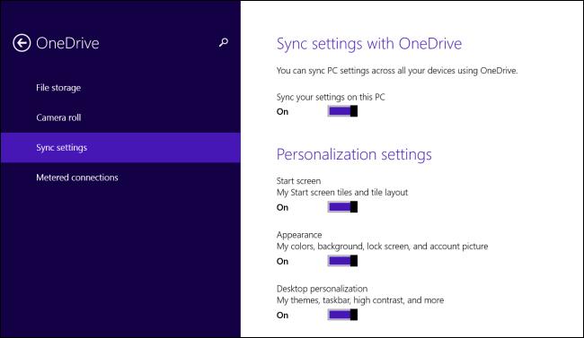 Microsoft Account Settings Backup