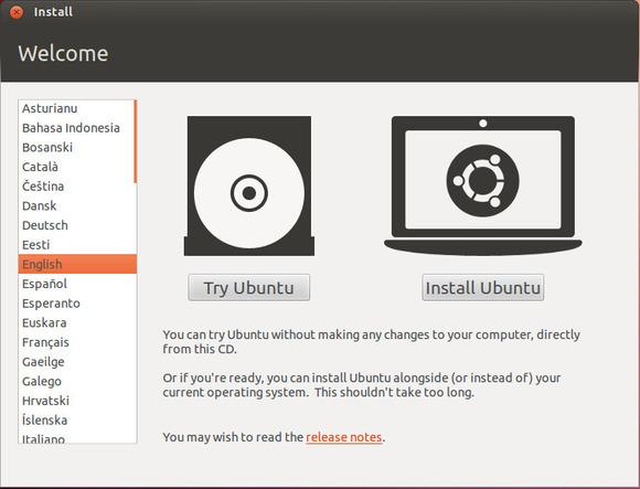 Installer Ubuntu