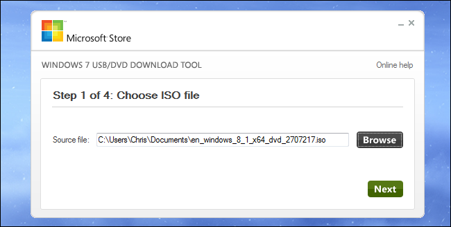Image ISO Windows 8