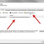 Comment déplacer des données Outlook vers un nouveau PC