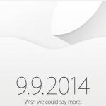 Une conférence de presse d'Apple le 9 septembre