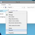 """Comment renommer """"Ce PC"""" pour que ça redevienne """"Mon ordinateur"""" dans Windows"""