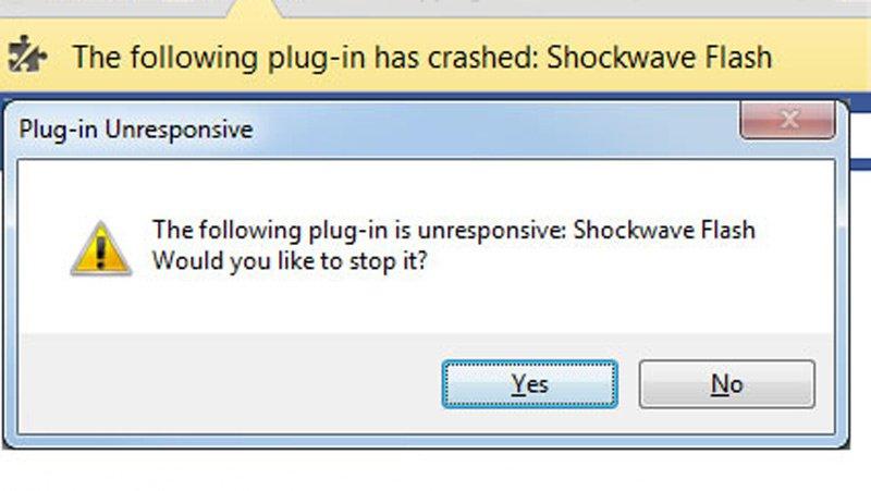 Shockwave Flash dans Google Chrome