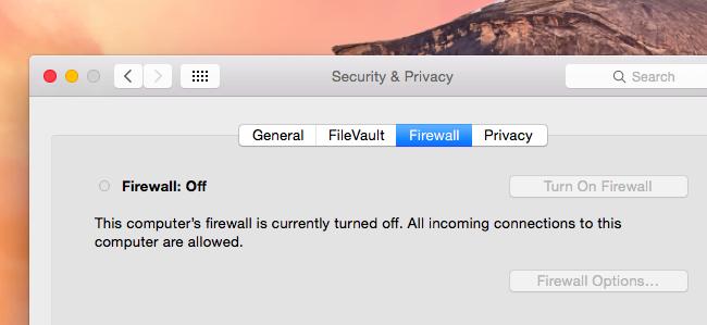 Pare-feu Pour Mac