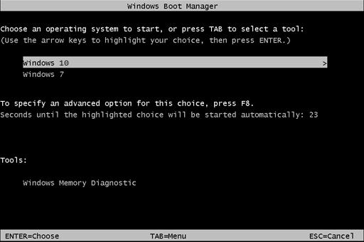 le menu de démarrage similaire à celui de Windows 7