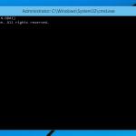 Comment ouvrir invite de commande élevée dans Windows 10
