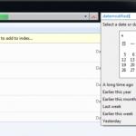 Trouver les fichiers par date de modification dans Windows