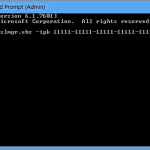 Comment modifier la clé de produit Windows 10
