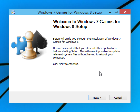 jeux de Windows 7