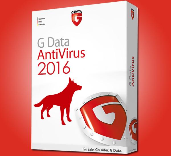 G Data AntiVirus 2016