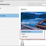 Désactiver les publicités sur l'écran de verrouillage de Windows 10