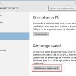 Comment accéder aux configuration du firmware UEFI BIOS depuis Windows 10