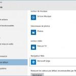 Windows 10: Remplacer Bing par Google pour la recherche dans cortana