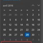 Régler une date et une heure incorrecte dans Windows 10