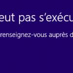 Windows 10: Cette application ne peut pas s'exécuter sur votre PC– Réparer le problème
