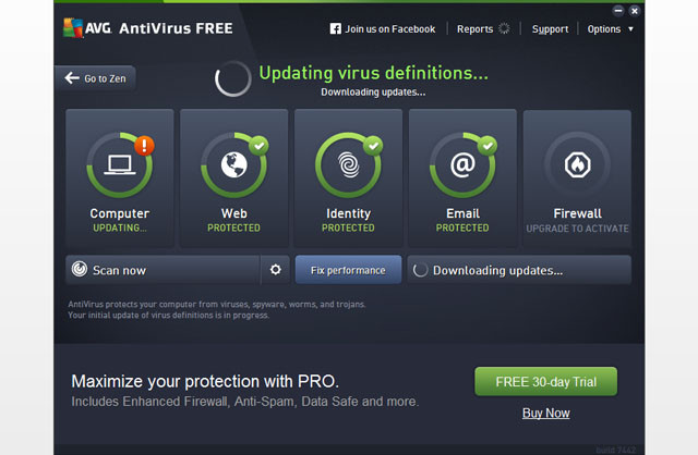 AVG AntiVirus Gratuit 2016